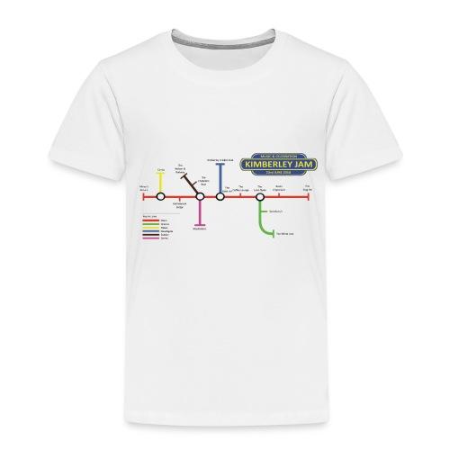 Kimberley Jam Map - Kids' Premium T-Shirt