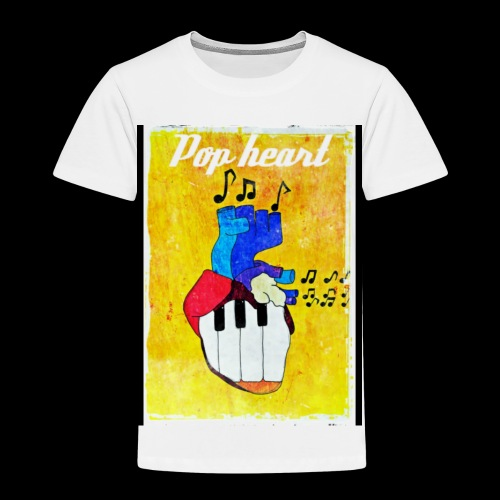 Pop heart - Maglietta Premium per bambini