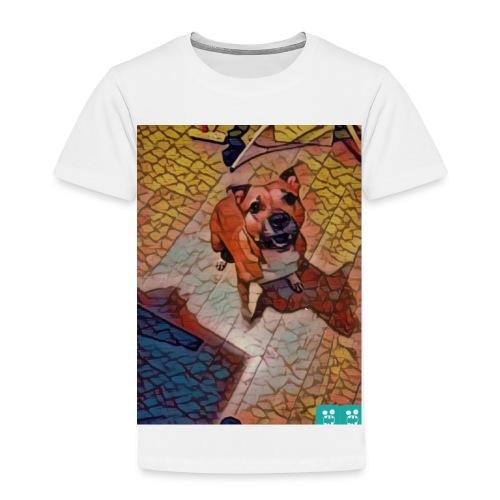 Foxy in kleur - Kinderen Premium T-shirt