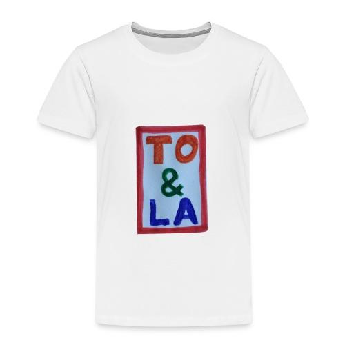 TO & LA - Koszulka dziecięca Premium