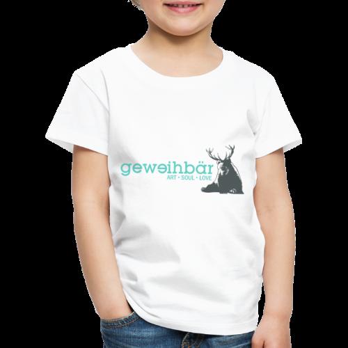 geweihbär colored - Kinder Premium T-Shirt