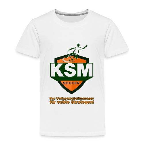 KSM-Soccer Logo - Kinder Premium T-Shirt