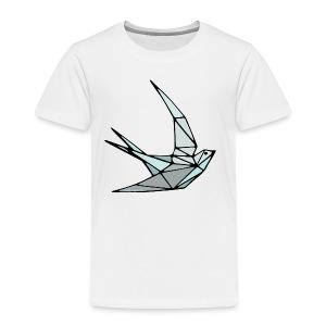 Oiseau (hirondelle) en origami - T-shirt Premium Enfant