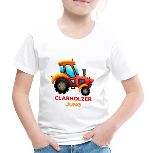 Clarholzer Jung - Traktor 2 - Kinder Premium T-Shirt