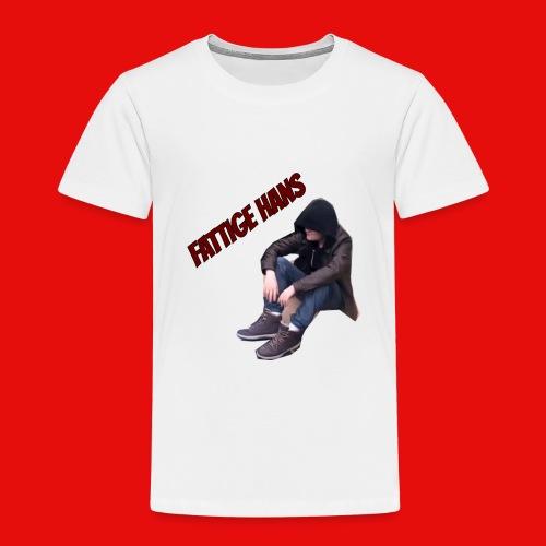 Fattige Hans - Premium T-skjorte for barn