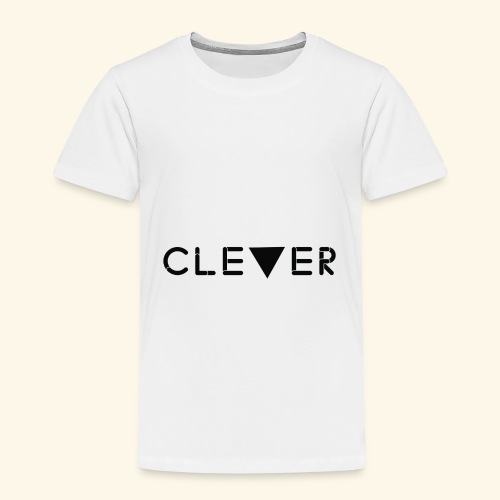 black clever logo - Kids' Premium T-Shirt