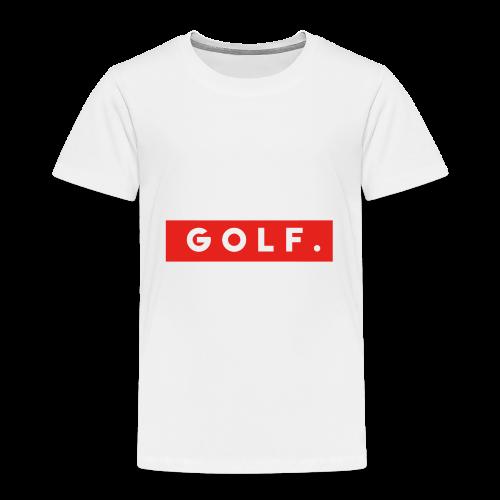 GOLF. - T-shirt Premium Enfant