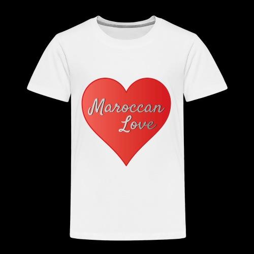 Maroccan_Love_LifeStyle Logo - Kinder Premium T-Shirt