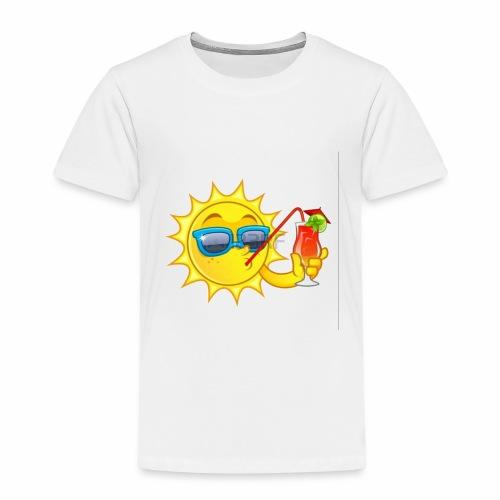 Soleil en vacance - T-shirt Premium Enfant
