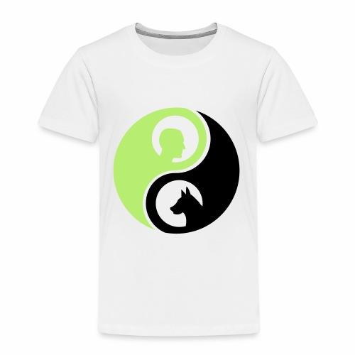 animaltraining logo - Kinderen Premium T-shirt