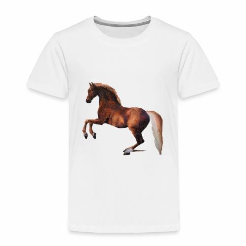 Pferd gemalt - Kinder Premium T-Shirt