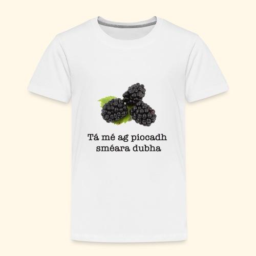 Picking blackberries - Kids' Premium T-Shirt