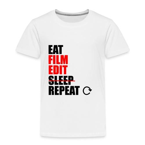 Life of a filmmaker - Kinder Premium T-Shirt