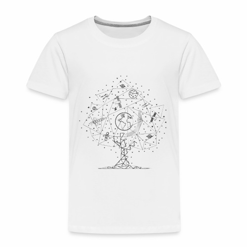 Interpretacja woodspace - Koszulka dziecięca Premium