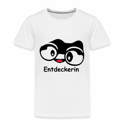 Fernglas Theoline Entdeckerin - Kinder Premium T-Shirt