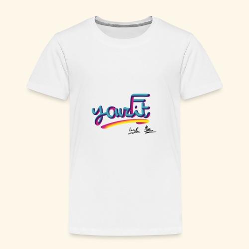 YourFit's Logo - Maglietta Premium per bambini