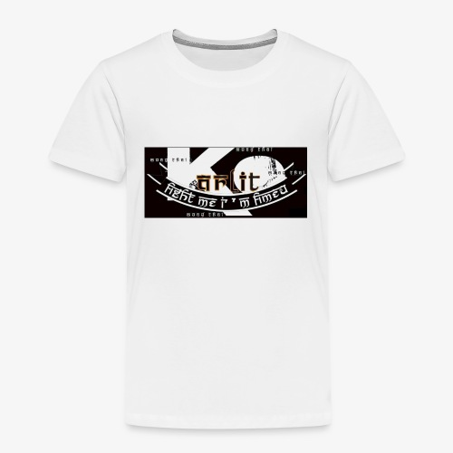 logo karlito black n gold - T-shirt Premium Enfant