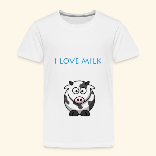 I LOVE MILK GARCON - T-shirt Premium Enfant