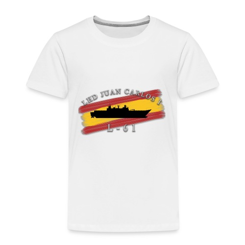 LHD Juan Carlos I - Camiseta premium niño