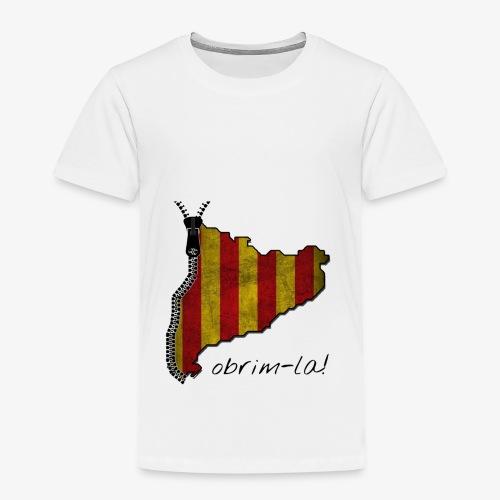 catalunyacremalleranegreg - Camiseta premium niño