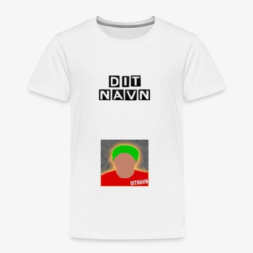 DitNavn T-shirt - Børne premium T-shirt