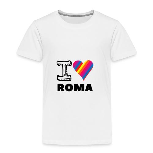 I LOVE ROMA - Kinder Premium T-Shirt