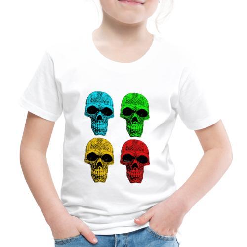4 Skulls - Kids' Premium T-Shirt