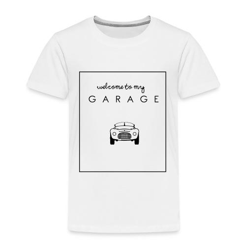 Welcome to my GARAGE - Autoliebhaber - Kinder Premium T-Shirt