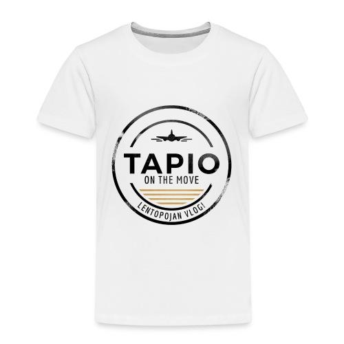 Tapio on the move - Lasten premium t-paita