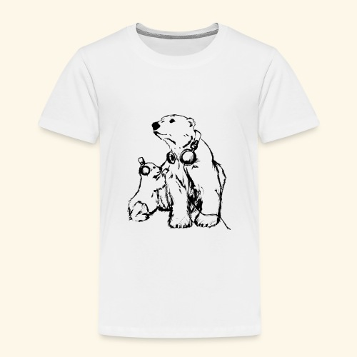 POLAR MUSIC BABY - Kinder Premium T-Shirt