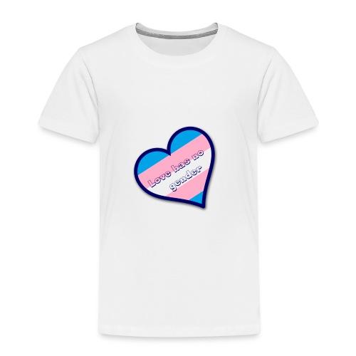 Love has no gender - Kinderen Premium T-shirt