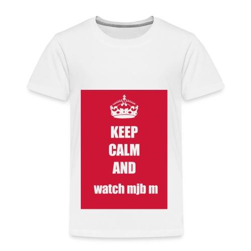 Keep calm watch mjb m - Kids' Premium T-Shirt