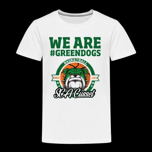 SCA CUSSET WE ARE GREEN - T-shirt Premium Enfant