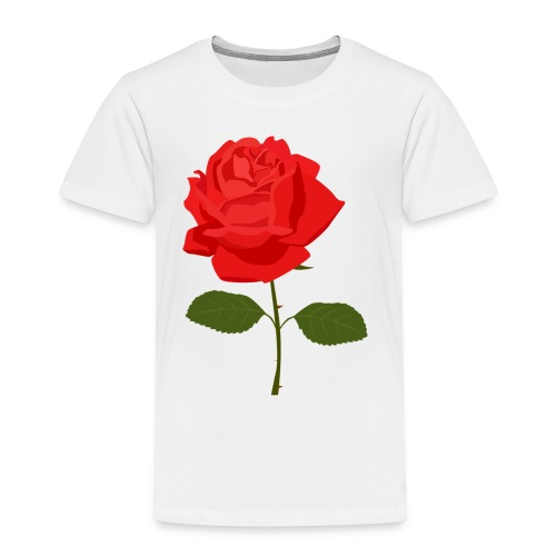 Red Rose - Kinderen Premium T-shirt