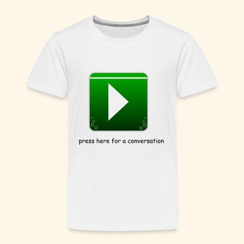press here - Kinder Premium T-Shirt