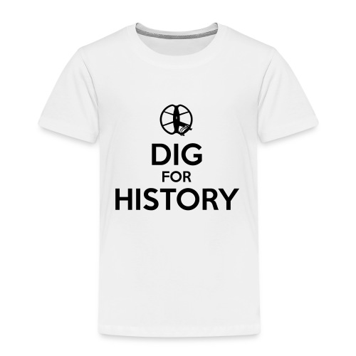 Dig for History 1 - by detonateur - Black - T-shirt Premium Enfant