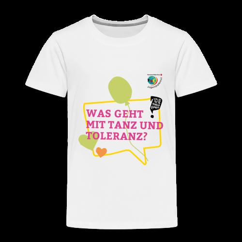 TANZ & TOLERANZ - Kinder Premium T-Shirt