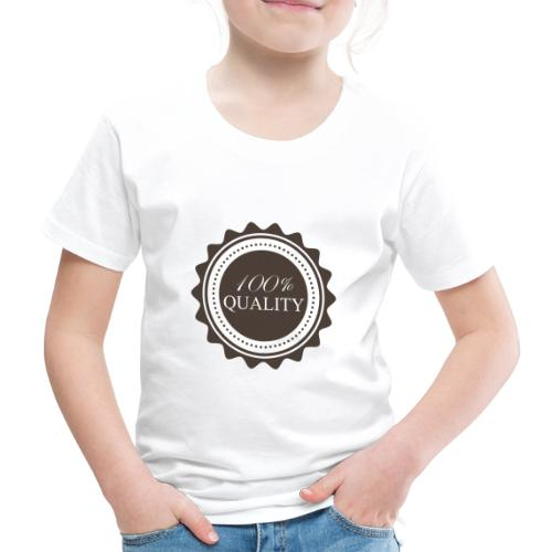 100% Quality - T-shirt Premium Enfant