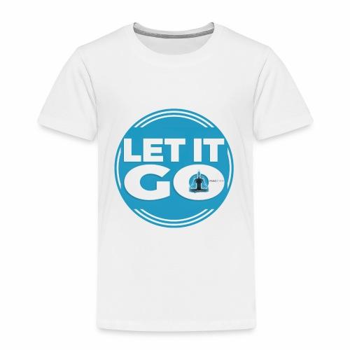 Let It Go // Meditare - Maglietta Premium per bambini