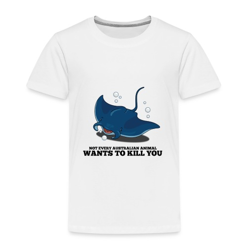 Manta Rochen / Manta Ray - Kinder Premium T-Shirt