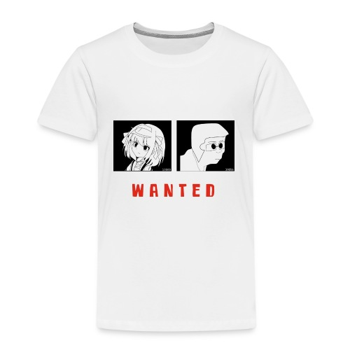 Wanted sign - Kinderen Premium T-shirt