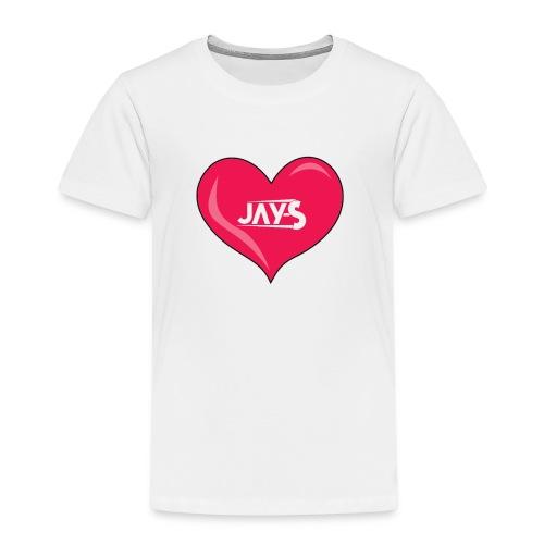 Love JAY-S - Maglietta Premium per bambini