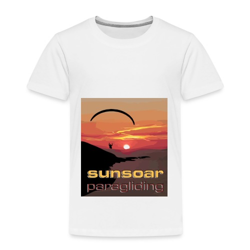 sunset flying - Kids' Premium T-Shirt