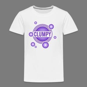 Clumpy halos violet - Kinder Premium T-Shirt