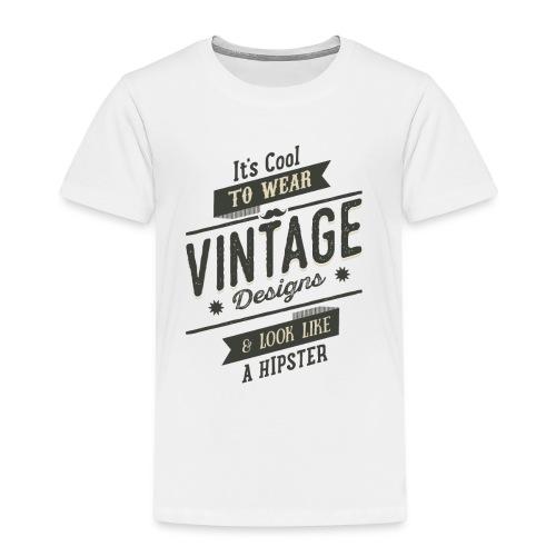 Vintage Design dark - Kids' Premium T-Shirt
