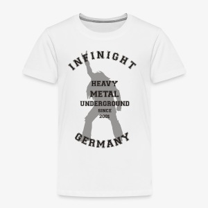 Infinight College headbanger dark - Kinder Premium T-Shirt