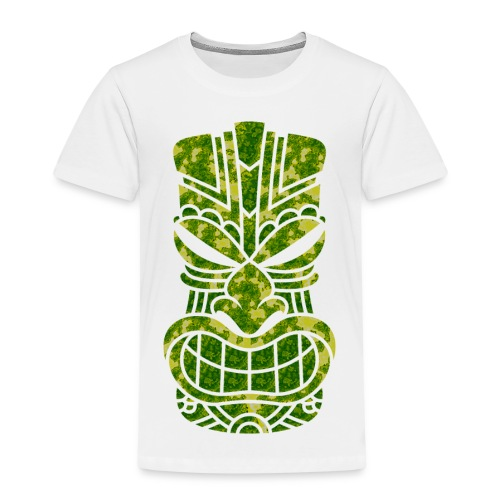 Tū of the angry face - Kids' Premium T-Shirt