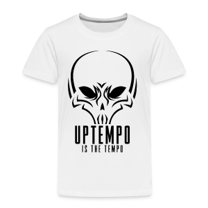 Uptempo Is The Tempo Black - Kinderen Premium T-shirt