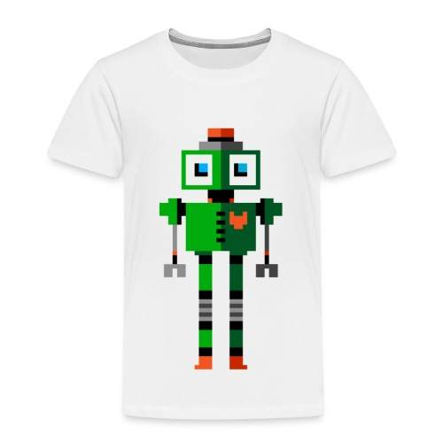 Green Robot - Kids' Premium T-Shirt