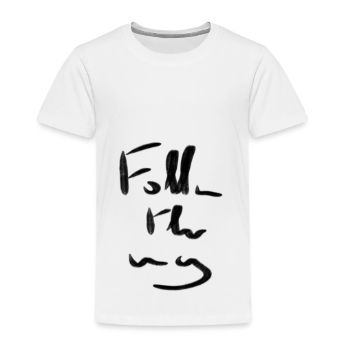 Follow the Way - T-shirt Premium Enfant